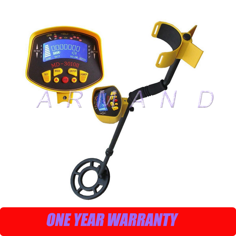 Metal Detector MD3010II Underground Metal Detector Treasure Hunter Professional Gold Metal Detector Metal Finder high quality underground highly sensitive metal detector md3010ii for gold hunter