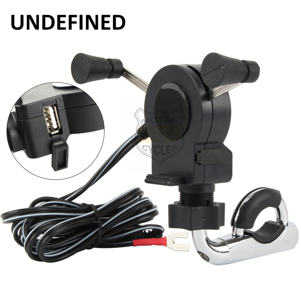 Back To Search Resultshome Vehemo Waterproof Auto Charger Motorcycle Handlebar Car Quick Charger Universal Charger Socket Mounts Smart Adaptive