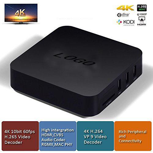 Modelos de explosión 4 K Android TV Box 4 K RK3229 KODI H.265 a Plena Carga 4 K Soporte HD Media Player Android TV Box