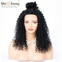 Sparkle Curl Human Hair Wigs Indian Remy Hair Full Lace Wigs with Baby Hair Natural Hairline WoWEbony