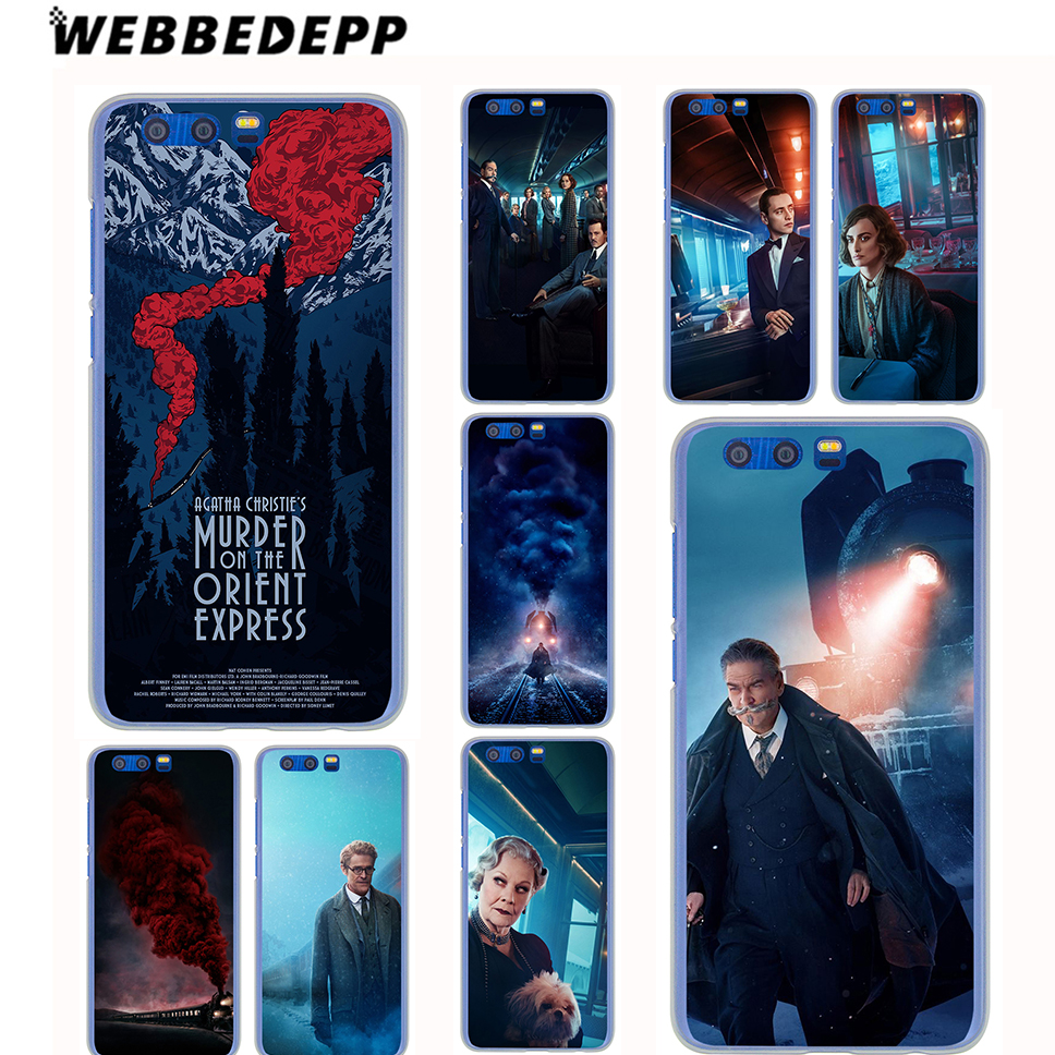WEBBEDEPP Murder on the Orient Express Case for Samsung Galaxy A8(Plus)A7 A5 A3 2018 2017 2016 2015 & Grand Prime Note 8 5 4 3