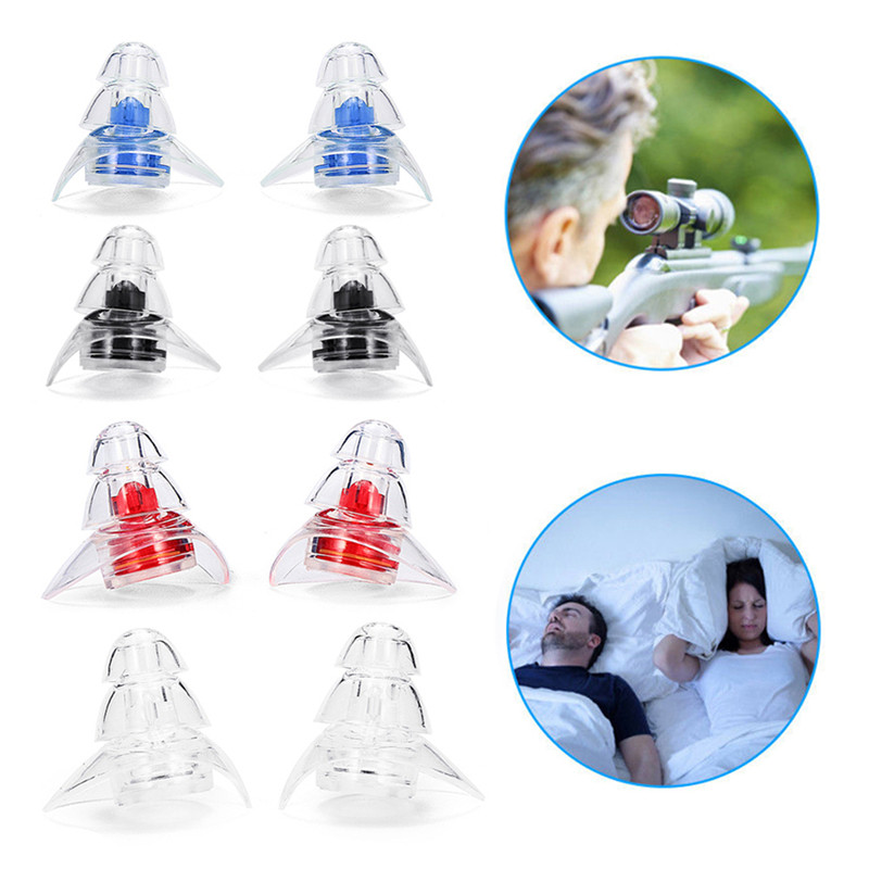 1 Pair Soft Silicone Ear Plugs Sound Insulation Ear Protection Earplugs Anti Noise Snoring Sleeping Plugs For Noise Reduction 1