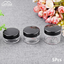 Storage-Container Cosmetic-Cream-Jar Bead Makeup Round-Bottle Nail-Art Empty Plastic