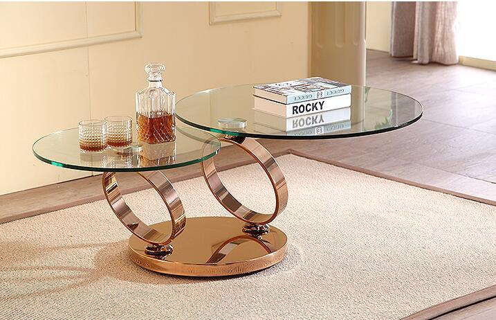 rotating glass coffee table - Popular Rotating Glass Coffee Table-Buy Cheap Rotating Glass