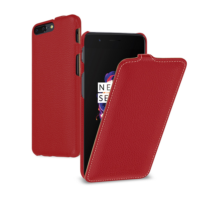 Business Flip Case for Oneplus5 Oneplus 5 Case Genuine Cow Leather Shell Cover for Oneplus 5T Phone Fundas Skin 5.5/6.01inch