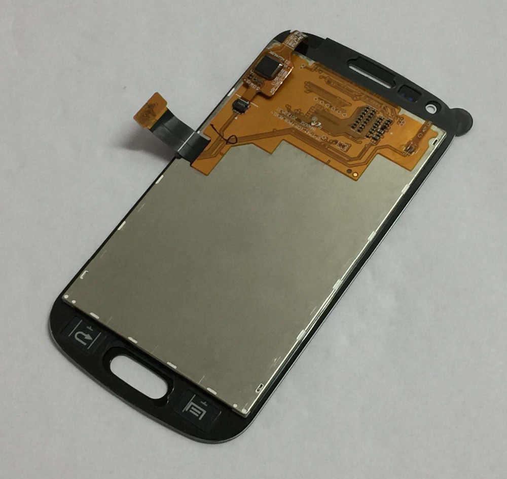 شاشات LCD لسامسونج غالاكسي S DUOS S7560 شاشة LCD S7562 شاشة الكريستال السائل لوحة شاشة LCD محول الأرقام بشاشة تعمل بلمس الزجاج الجمعية