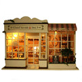"DIY Kit Miniature Wooden Doll House Furniture ""Sweet Berries Time"" DIY Dollhouse Miniaturas Toys for Children Birthday Gifts"