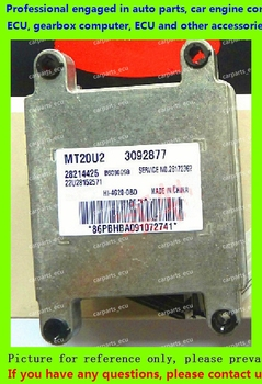 For car engine computer/MT20U MT20U2 MT22  ECU/Electronic Control Unit/Car PC/Brilliance Jinbei HIACE MT20U2 3092877 B6000098 28