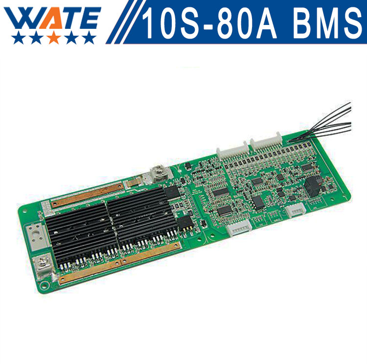 Free shipping 10S  36V 80ABattery Protection BMS PCB Board For Li-ion Cell Max 80A communication base station storage 10s 36v li ion lithium cell 40a 18650 battery protection bms pcb board balance r179t drop shipping