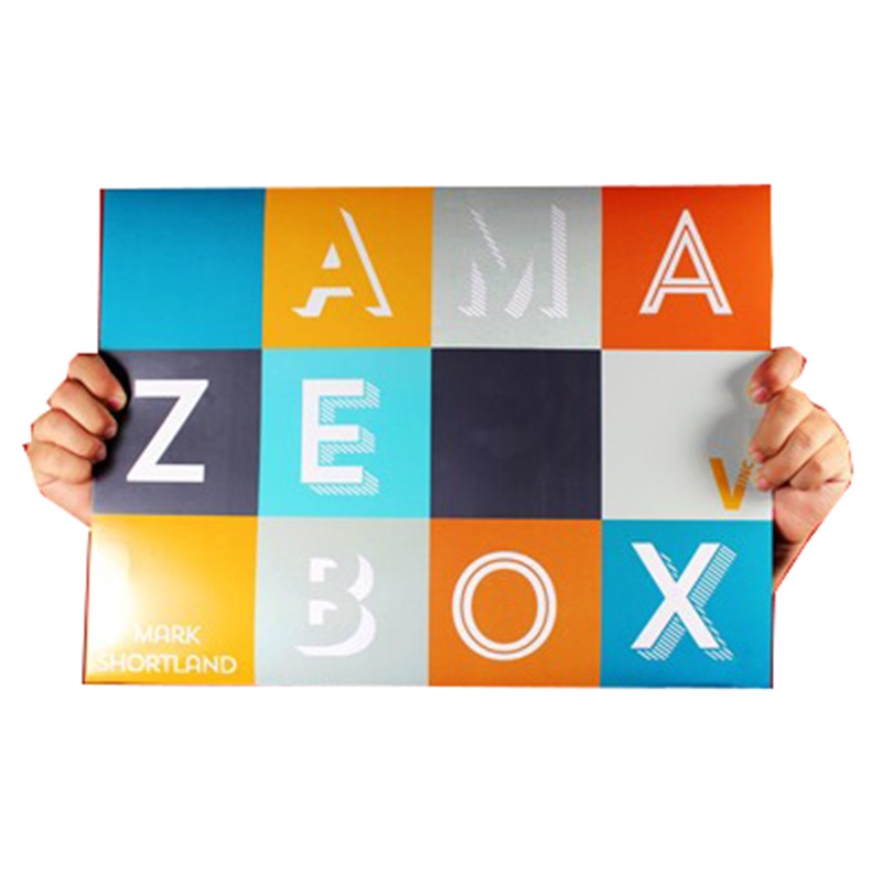 Nouveau AmazeBox tour de magie carte illusion magique mentalisme comédie accessoires