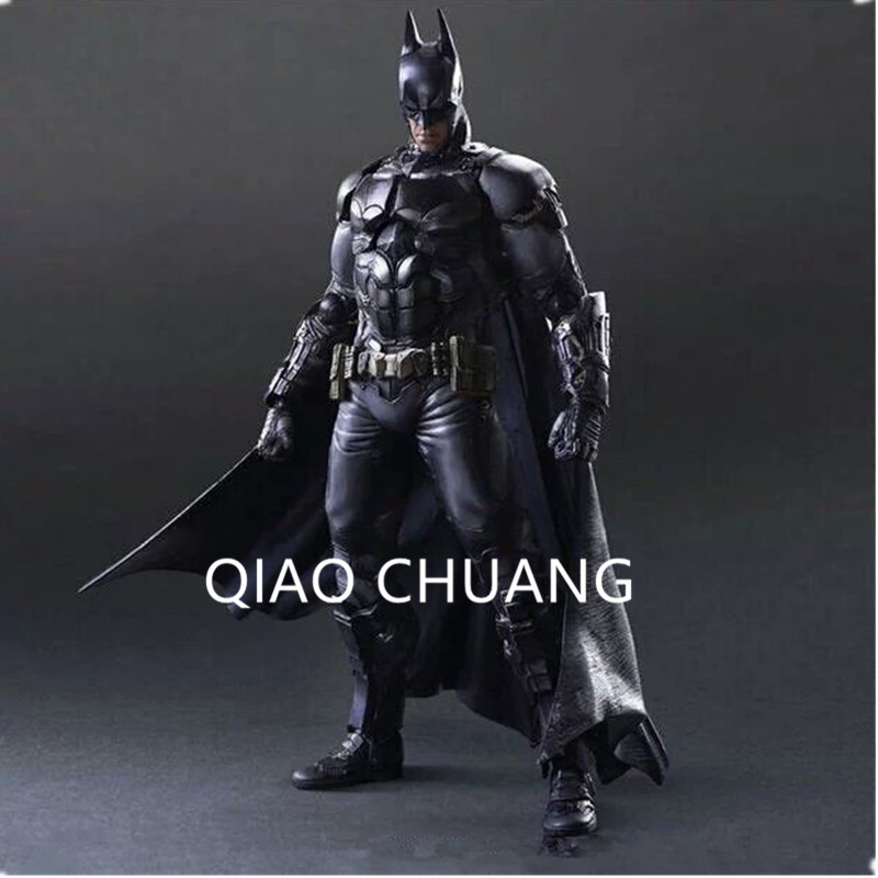PlayArts KAI Batman Arkham Knight Superhero Bruce Wayne PVC Action Figure Collectible Model Toy G105 neca batman begins bruce wayne pvc action figure collectible model toy 7inch 18cm