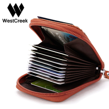 Unisex Genuine Leather Wallets Short Paragraph Small Wallet with Window Cards Bag Pillow Organizer Purse for Female