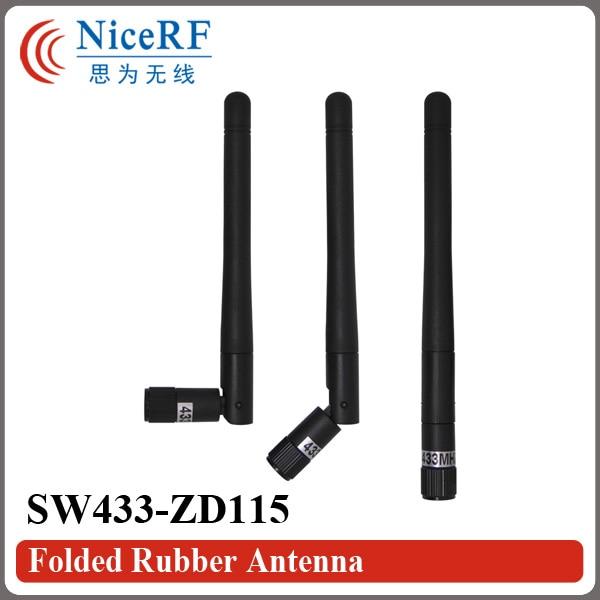 10 개 / 몫 SW433-ZD115 433 백만 헤르쯔 이득 2.15 dBi 접는 - 통신 장비 - 사진 3
