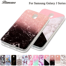 B02 Marble Soft TPU Case For Samsung S8 Plus S7 S6 Edge S5 S4 S3 A3 A5 J3 J5 J7 2017 Prime J330 J530 J730 Silicone Stone Texture
