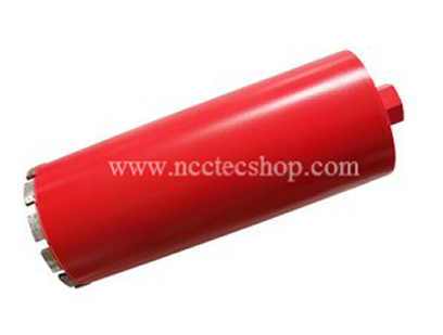 254mm*370mm NCCTEC Diamond Core Drill Bits CD254I | 10'' concrete wall wet core bits | Professional engineering core drill all wet cd