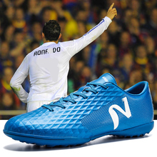 Hombre Zapatos de fútbol transpirable calzado Super luz apoyo deportes  zapatillas de deporte para hombres zapatos c683bf3482430