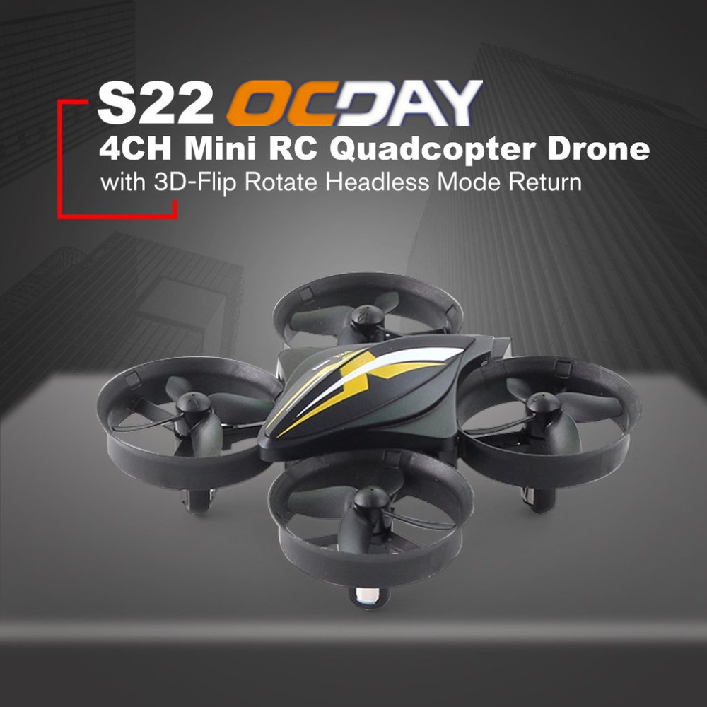 OCDAY S22 Mini dron 4CH RC Quadcopter Drone Aircraft UAV Toy