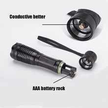 Z90 4000Lumens Led Torch CREE XM-L T6 Led Flashlight Zoomable Waterproof Tactical Flashlight for Camping Hiking