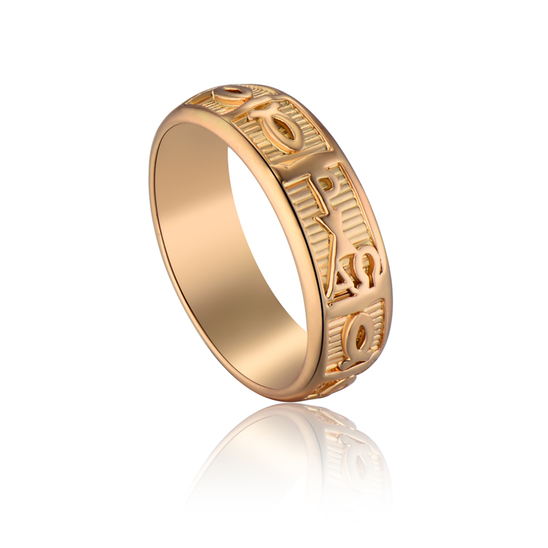egyptian jewelry antique letter charm rings for womanmen hieroglyphics gothic rings gold color wide - Egyptian Wedding Rings