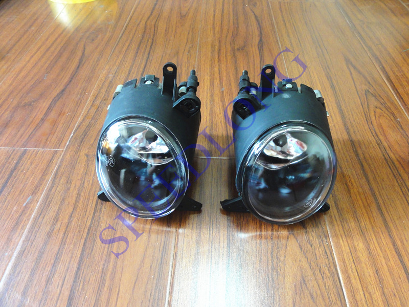 2 Pcs/Pair with bulbs RH and LH driving lamps front bumper fog lights for Mitsubishi Lancer CJ 2007-2012 1pair rh lh side front bumper fog lamps lights with bulbs for mazda 5 2006 2010