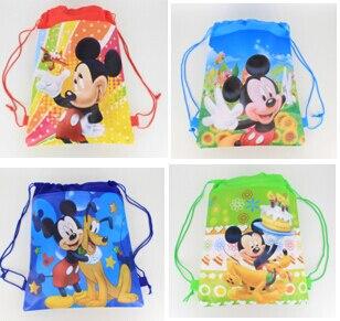 2015 школьные сумки дети мультфильм шнурок рюкзак и мешок для детей в школу mochila infantil-5