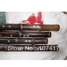 Chinese folk instruments fluteBlack bamboo flute