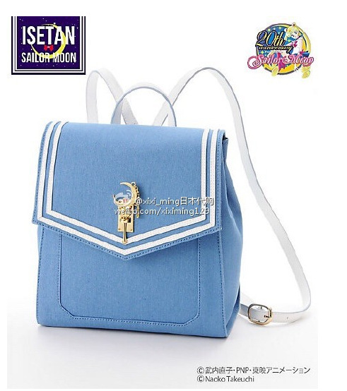 2016 Luxury brand Girl Cute Samantha Vega Sailor moon Backpack LUNA Cat Schoolbag Sailor moon Women Leather Backpack Bookbag