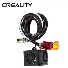 Creality 3D 完全組立押出機キット 2 個とファンファンカバー空気接続ノズルキット CR 10 シリーズため 3D プリンタ部品