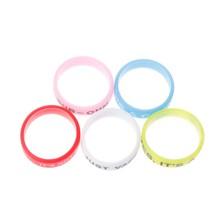 5Pcs Silicone Rings Anti-Slip Bands For Vape Tank Mods E-Cigarette Atomizers(China)