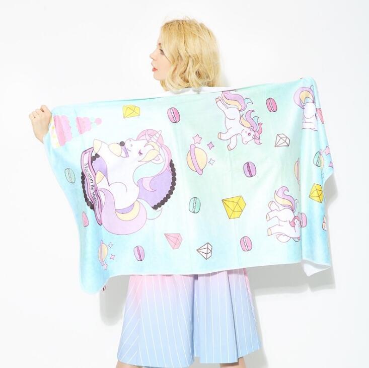 Face Towel Suppliers In Sri Lanka: Aliexpress.com : Buy INS Fashion Brand Unicorn Bath Towel