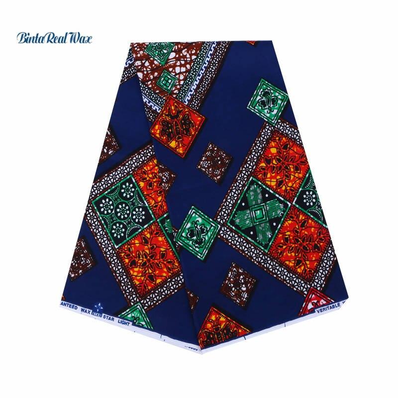 Vintage Printed dutch Wax African Fabric dutch Wax dutch 2018 Dutch Wax Cotton Ankara Fabric For
