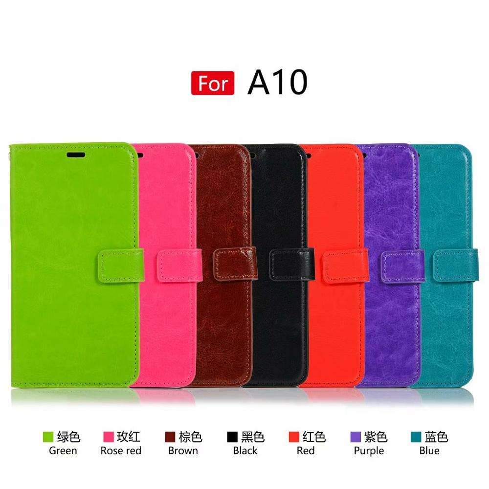 50pcs lot Flip PU Leather Cover Case For Samsung A10 A20 A30 A40 A50 A70 A80