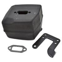 NEW Exhaust Muffler Bracket Gasket Set FIT HUSQVARNA Chainsaw 61 268 272 Parts