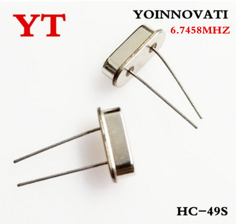 Free shipping 1000pcs lot 6 7458MHZ 6 7458 crystal oscillator best quality