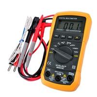 Hot Sale Handheld Battery Operated Digital Multi Meter LCD Digital Meter Multimeter AC DC Ammeter Voltage