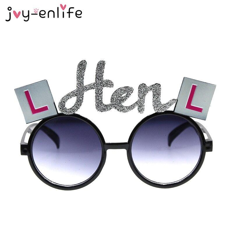 JOY-ENLIFE Divertido Estilo gafas de Sol para Despedida de Soltera Despedida de
