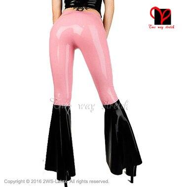 Резиновые латексные колготки короткие брюки латексные черные леггинсы для женщин (без молнии) - 2