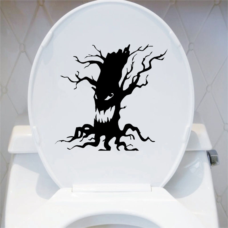 Popular scary halloween trees buy cheap scary halloween for Decoration fenetre halloween