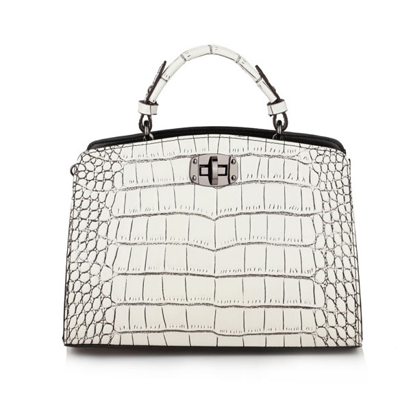 ФОТО 2017 new fashion tote crossbody bag crocodile grain women handbag genuine leather bag vintage shoulder bag women messenger bags
