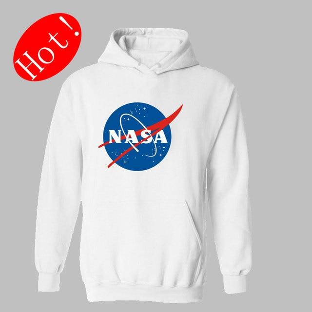 The Martian Matt Damon NASA Hooded Hoodies Men Cool for Winter Autumn in xxs Hoodies Men Hip Hop Sweatshirts 4XL