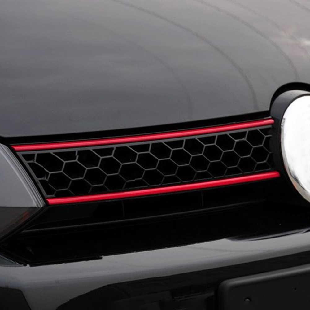 הוד חזית גריל מדבקות רכב מדבקת קישוט רכב אביזרי עבור פולקסווגן גולף 6 7 Tiguan רכב מדבקה