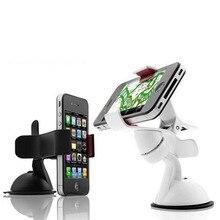 1 Pieces Newest Hot 360 Degrees Car Mobile Phone Holder Dashboard Mobile Mount Car Kit Mobile Phone Holder GPS Car Mount