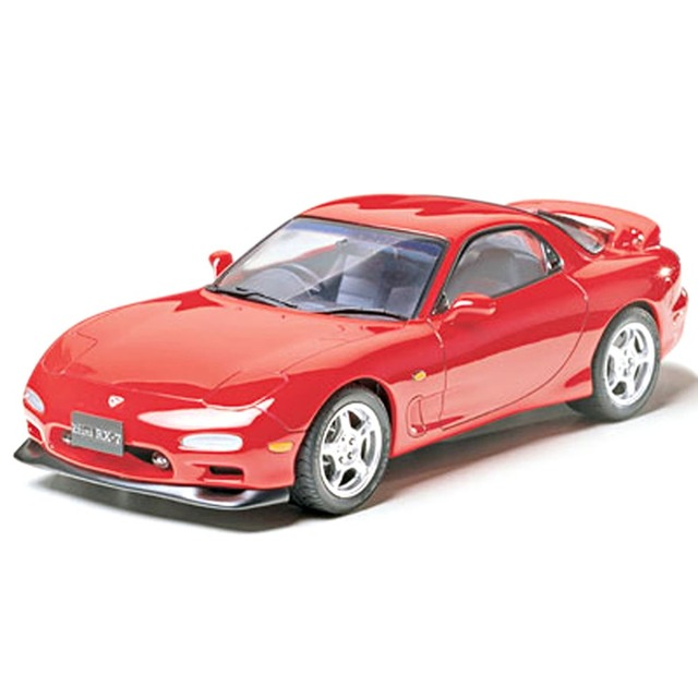 OHS Tamiya 24110 1/24 RX7 TypeR Scale Assembly Car Model Building Kits