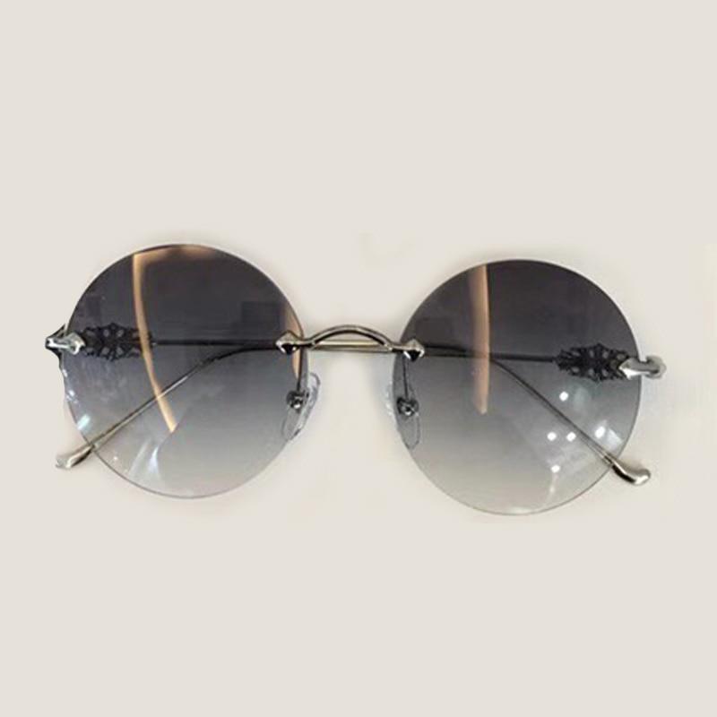 Box Sonne No1 Für Weiblich Randlose Brillen Sunglasses Mit Sunglasses Sunglasses Hohe Frauen Runde Feminino Oculos no3 De Sol Glas no2 Sonnenbrille Qualität Verpackung 8qwEqZ6TA