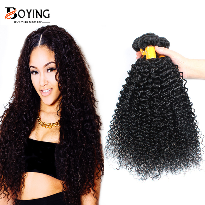 7a Unprocessed Indian Afro Kinky Curly Virgin Human Hair