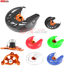 Motorcycle Front Brake Disc Guard Cover Protection Fit For KTM SX SXF XC XCF EXC EXCF 125 200 250 300 350 450 530 clutch cover protection cover water pump cover protector for ktm 350 exc f excf 2012 2013 2014 2015 2016