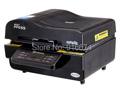 FAST Free shipping dicscount 3D vacuum multifunctional sublimation heat press t-shirt iphone case mug printer