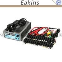 CPS-3205 II 정밀 컴팩트 디지털 DC 전원 공급 + 39 개 DC 잭 + 10A 프로브 0 ~ 32 볼트 0 ~ 5A 0.01 볼트/0.001A 실험실 컴퓨터 수리