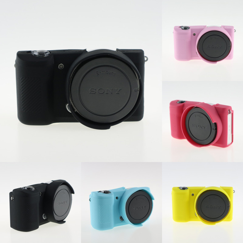 Soft Silicone Bag for Sony A5100 A5000 Camera Protective Bod