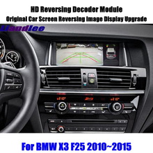 Voor Bmw X3 F25 2010 ~ 2015 Hd Omkeren Decoder Module Rear Parking Camera Afbeelding Auto Scherm Upgrade Display update